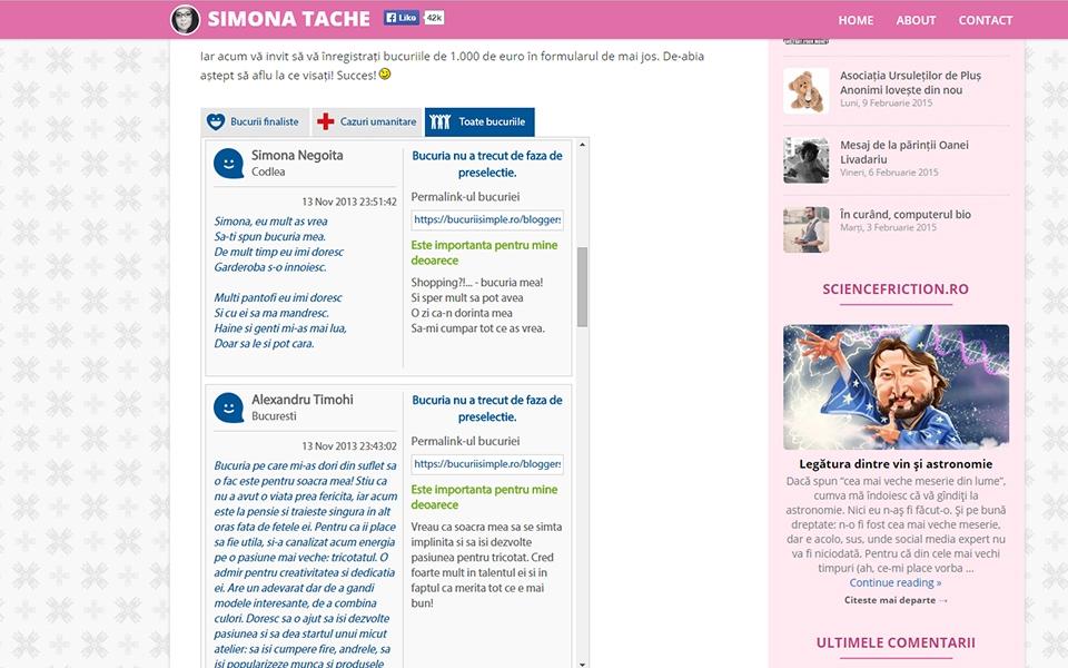 Campaign Blog Widget